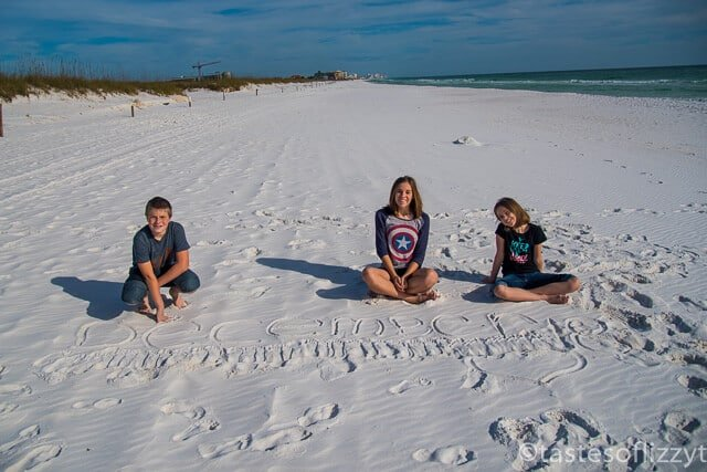 Florida in december hints for a family vacation to destin for Warmest florida beaches in december