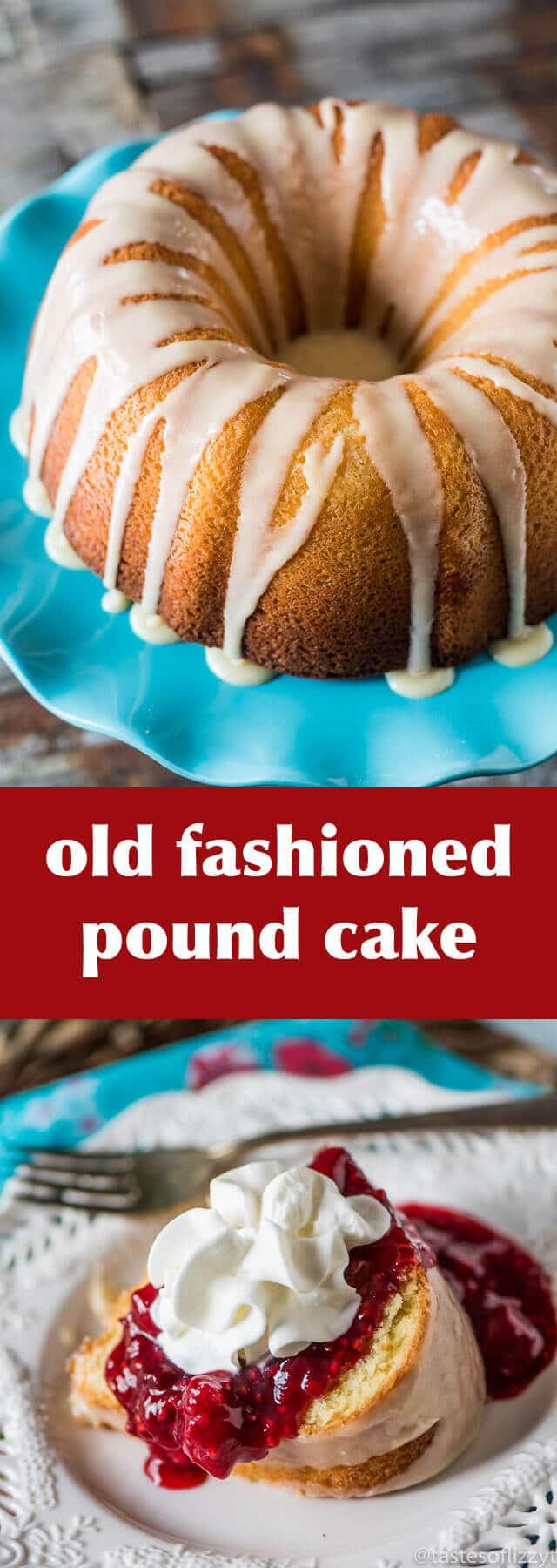 Butternut Pound Cake Frosting