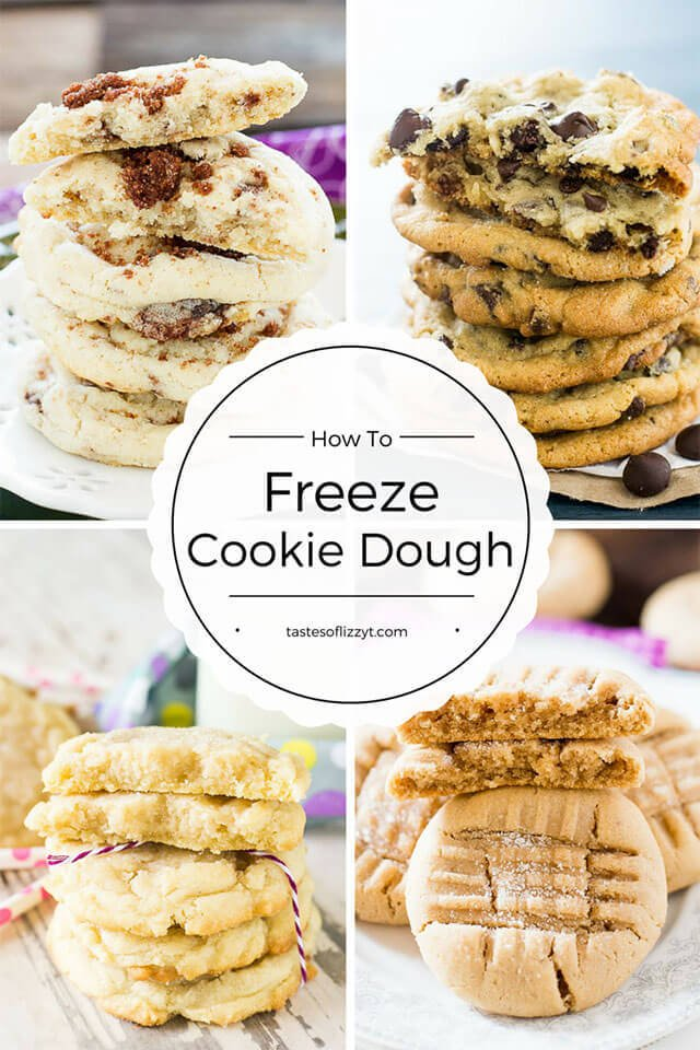 Hints on How to Freeze Cookie Dough - Tastes of Lizzy T