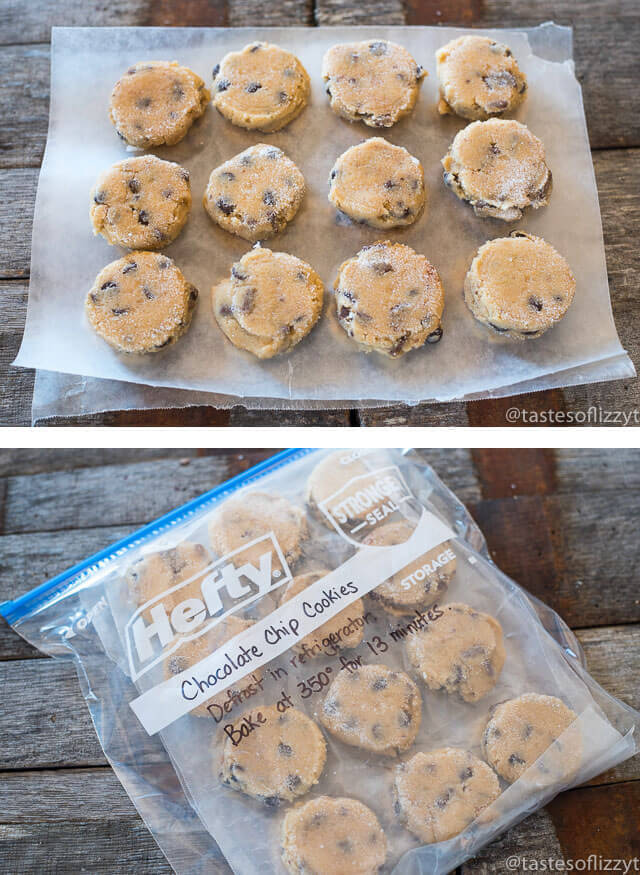 Hints On How To Freeze Cookie Dough Tastes Of Lizzy T