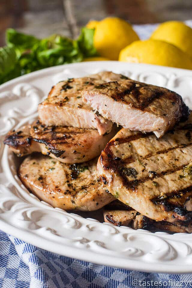 grilled-basil-lemon-pork-chops