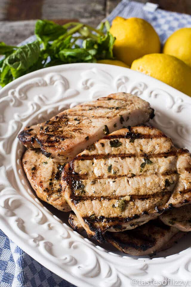 bag along with top loin chops (also known as New York pork chops ...