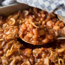 Homemade Three Bean Baked Beans