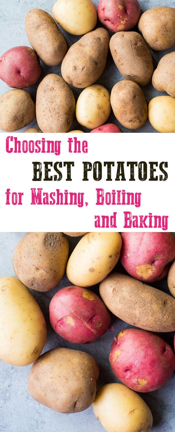 Don't get scared off by the idea of choosing the best potatoes for your favorite recipe. It's really not that difficult to choose the best potatoes and you'll instantly get better results!