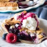 mixed-berry-cobbler-pie