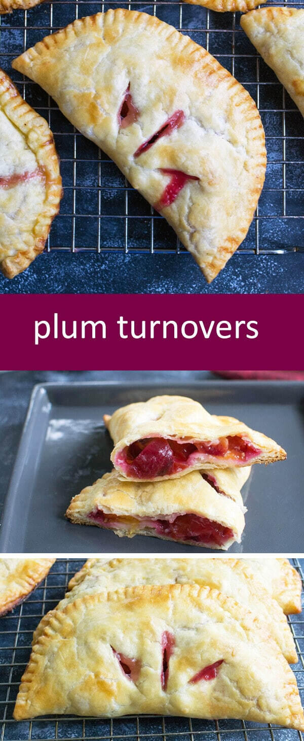 Homemade Flaky Plum Turnovers with From Scratch Filling with simple ingredients that anyone can make. An easy from-scratch turnover recipe!