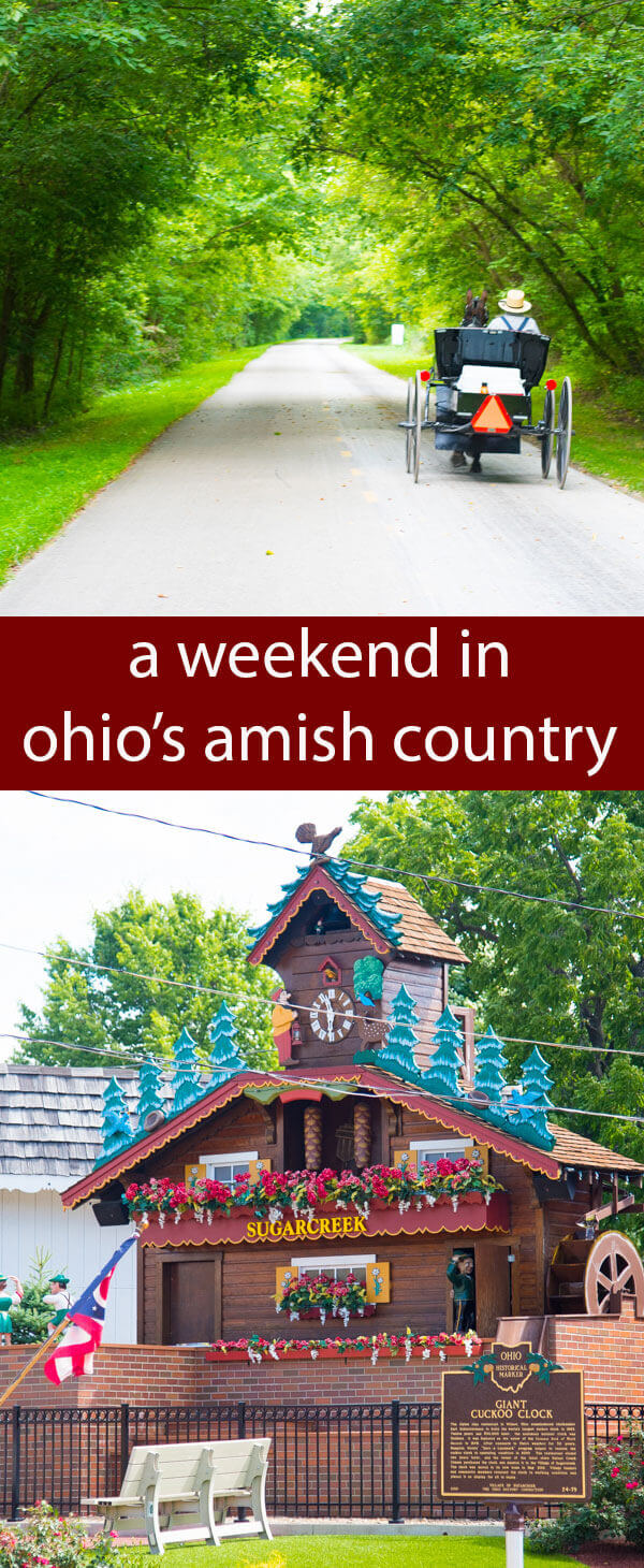Escape as a couple or have a family weekend getaway to Ohio's Amish Country. Sample some of the best foods, experience eclectic shopping and see the most peaceful, beautiful places in Ohio!