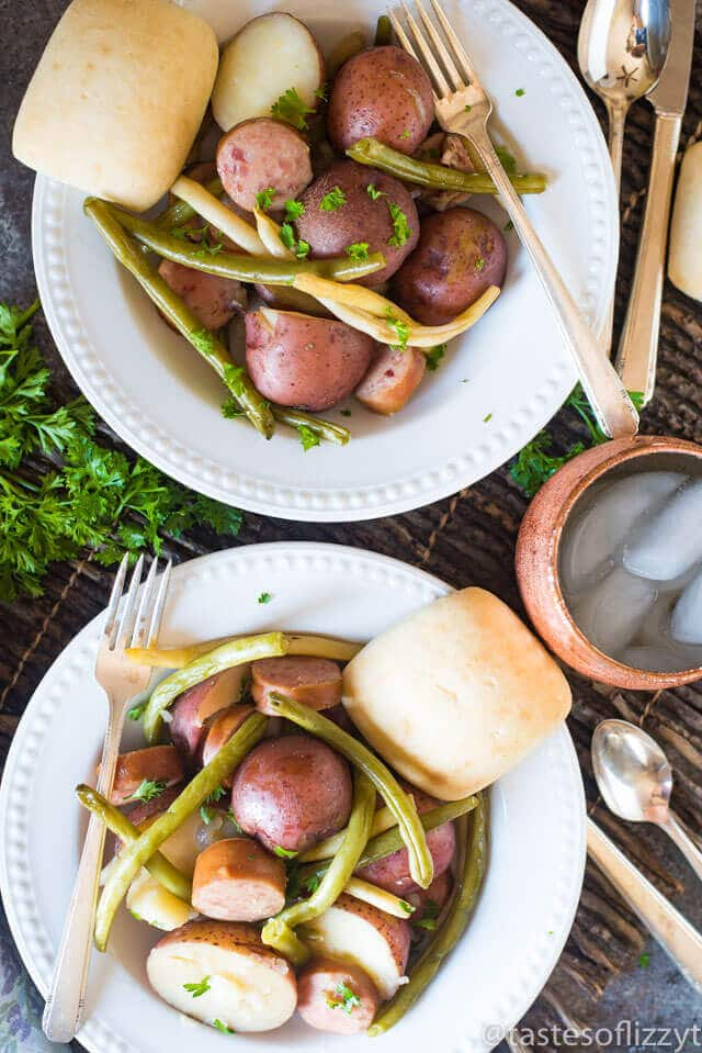 slow-cooker-sausage-green-beans-and-potatoes