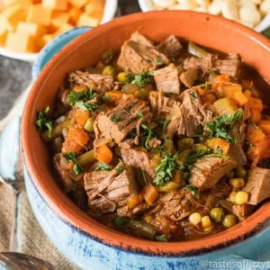 beef and vegetable soup recipe - easy dinner idea