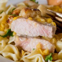 Cream Corn Pork Chops