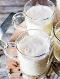 Homemade Eggnog {An Easy Amish Recipe}