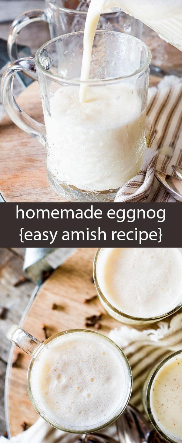Why buy eggnog when you can make homemade eggnog in under 5 minutes? This easy Amish recipe is versatile. Sweeten and season to your liking.