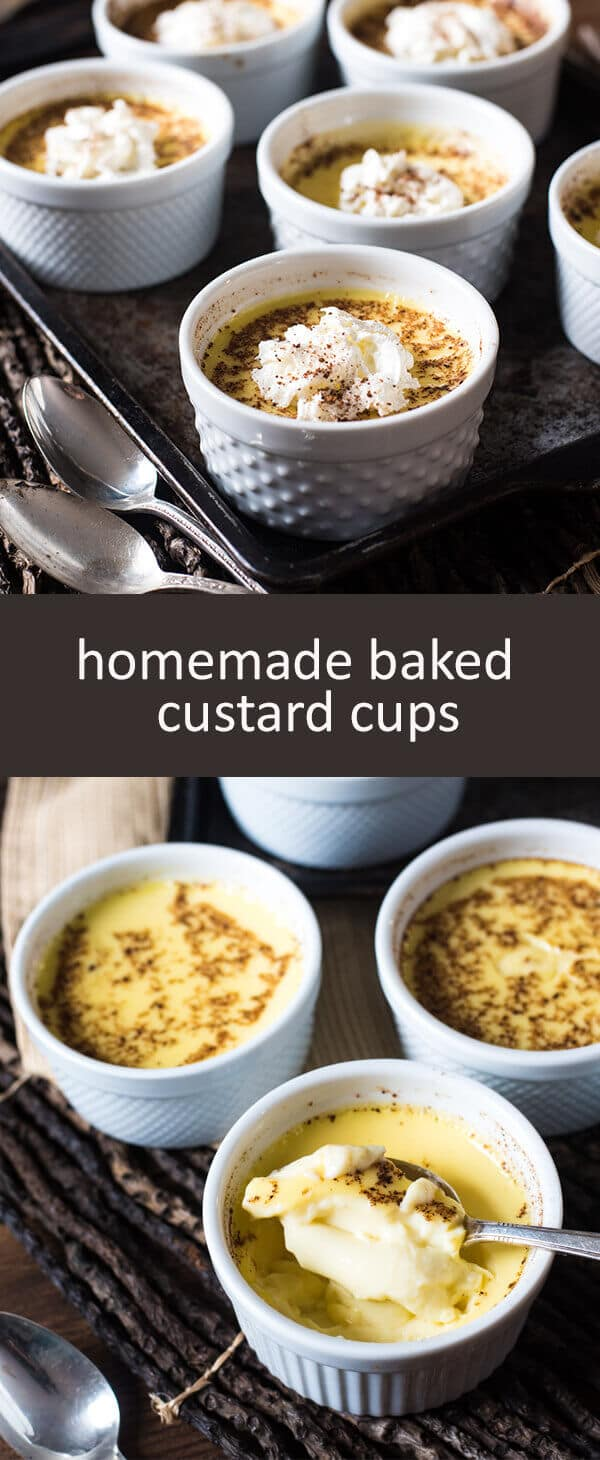 An easy, Amish Baked Custard Recipe that will take you back to Grandma's house. Smooth, creamy, with just the right amount of nutmeg.