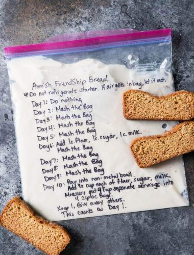 sweet amish sourdough starter recipe