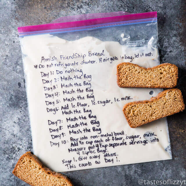 Amish Friendship Bread Starter Recipe Hints For Storing And Using This Sweet Sourdough