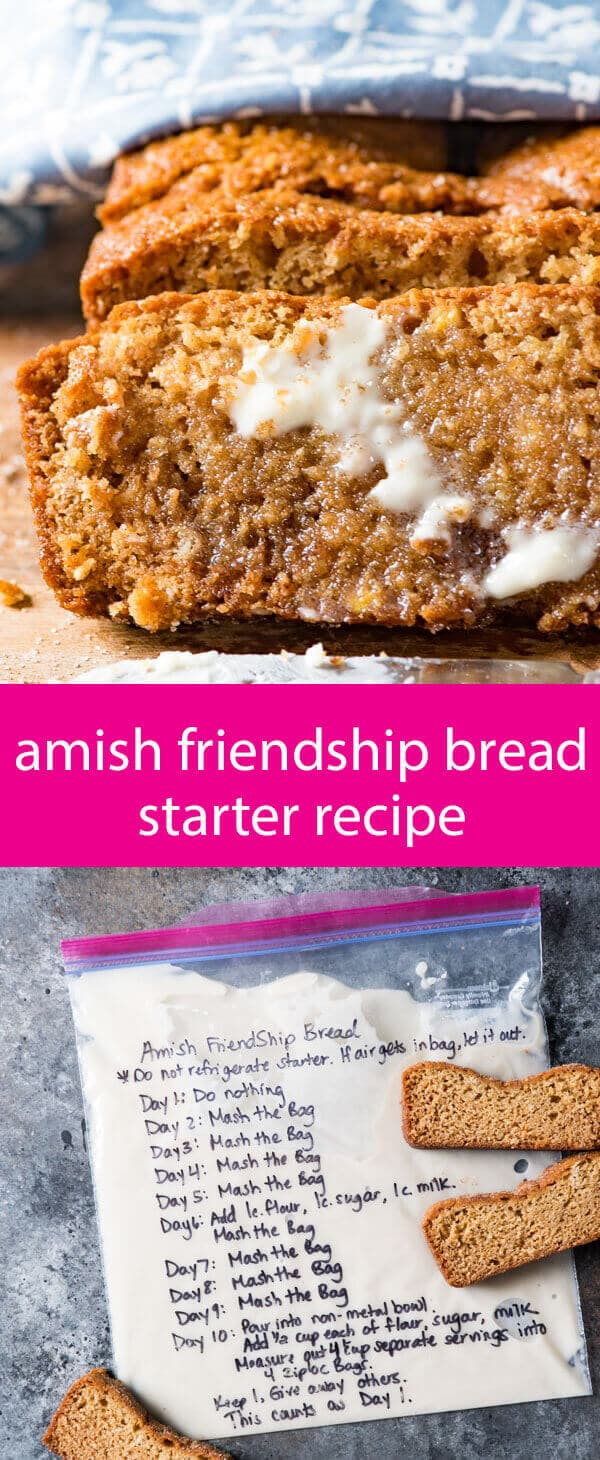 Cinnamon Friendship Cake Starter Recipe