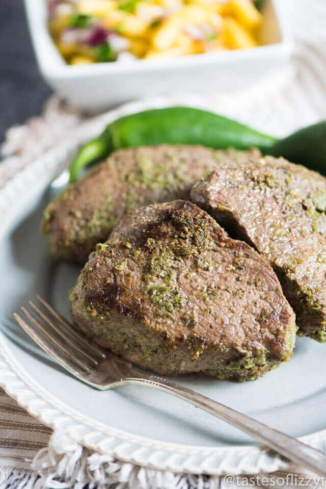 Jalapeno Steak Marinade Recipe {With Fresh Jalapeno Pineapple Salsa}
