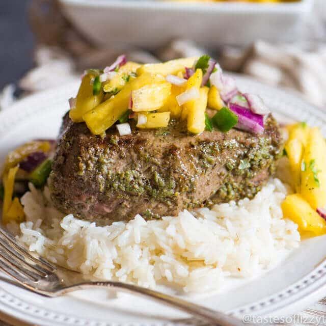 jalapeno steak with rice