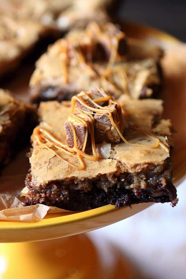 snickers-brownies