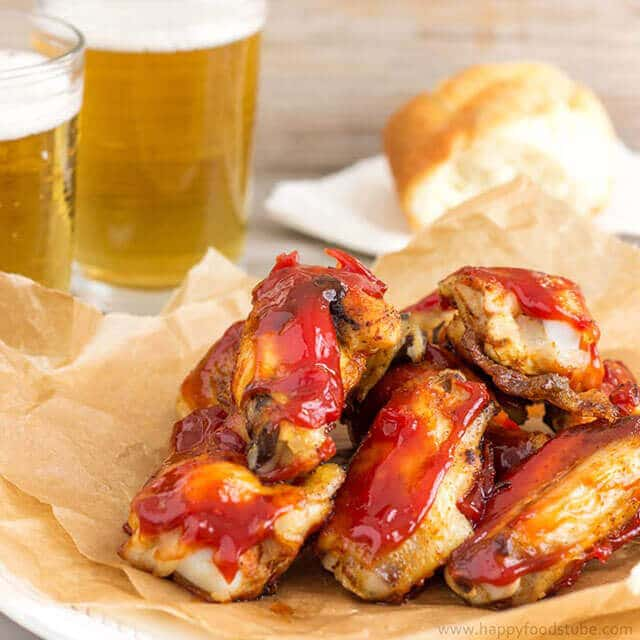 Sweet-and-Spicy-Sticky-Chicken-Wings