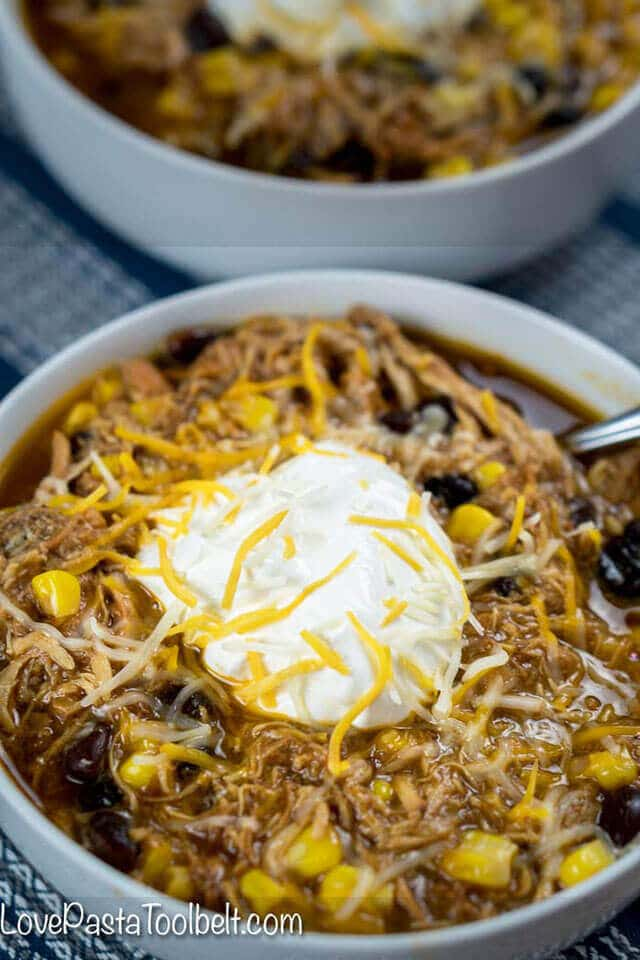 bbq chicken soup with sour cream