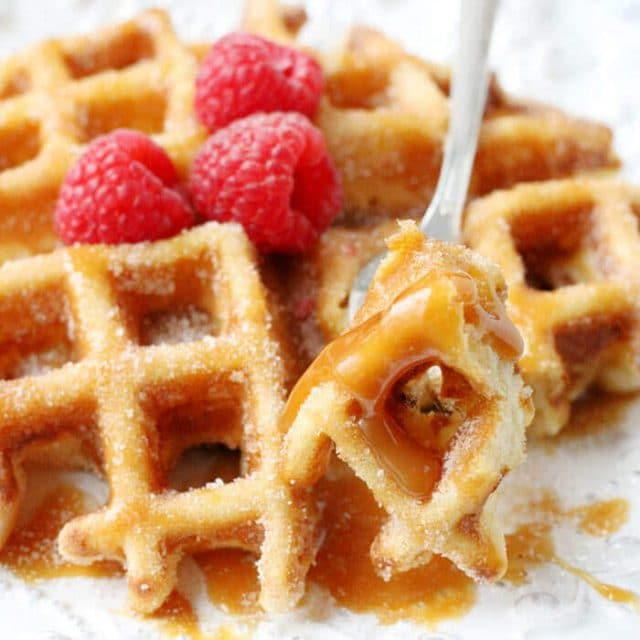churro-waffles-easy-breakfast-recipe