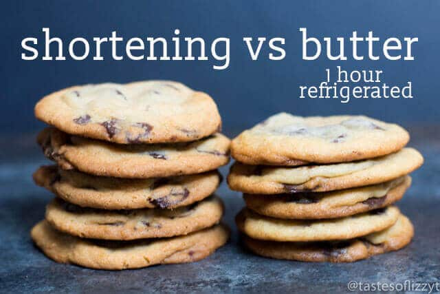 Shortening vs Butter in Cookies {What Makes the Best Chocolate Chip Cookie}