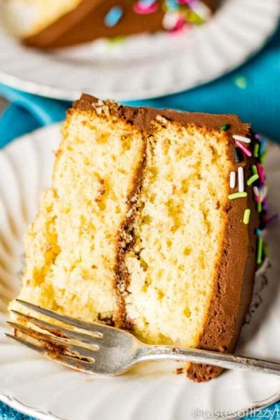 Homemade Yellow Cake Recipe