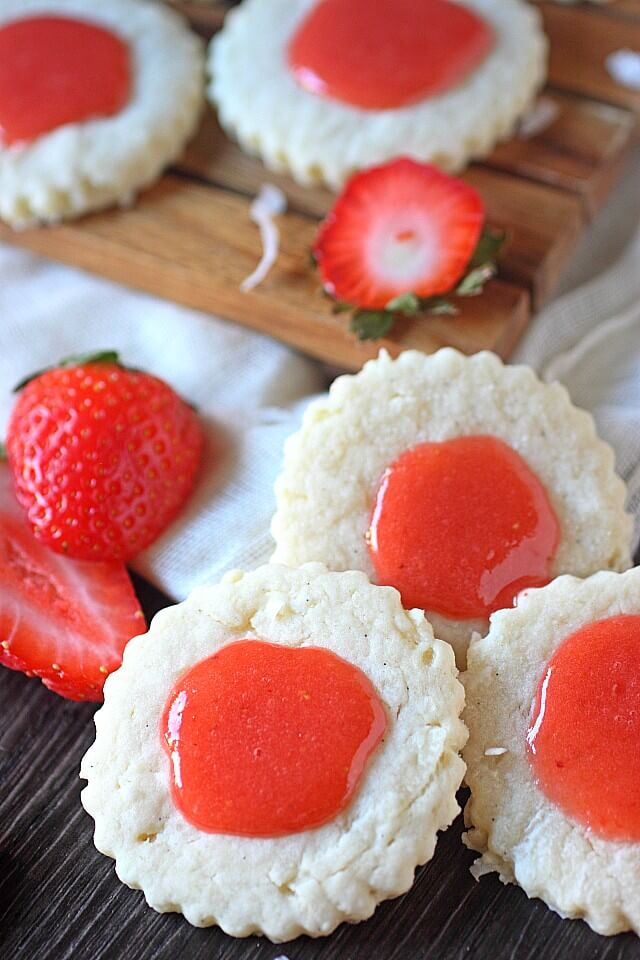 Strawberry Guava Cookies