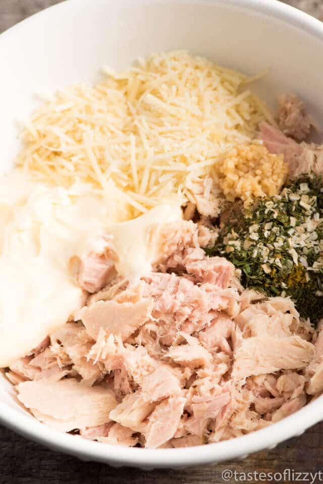 Three Cheese Tuna Melt Recipe