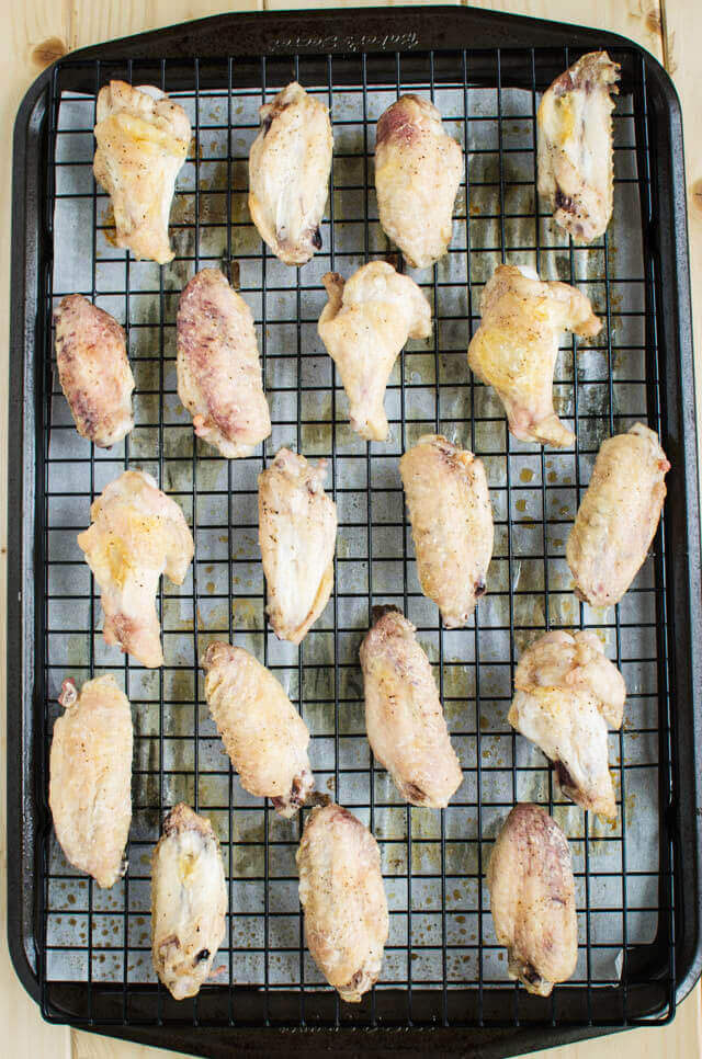 Baked Asian Chicken Wings