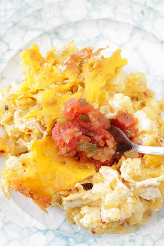 Chicken Nachos Cheesy Potatoes