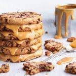 Dulce de Leche Mocha Cookie Cake
