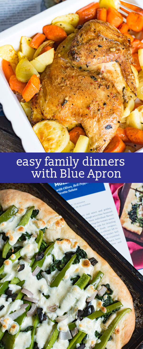With Blue Apron, weeknight meals have never been easier. Create easy family dinners with fresh, perfectly portioned ingredients delivered right to your door. meal planning #BlueApron