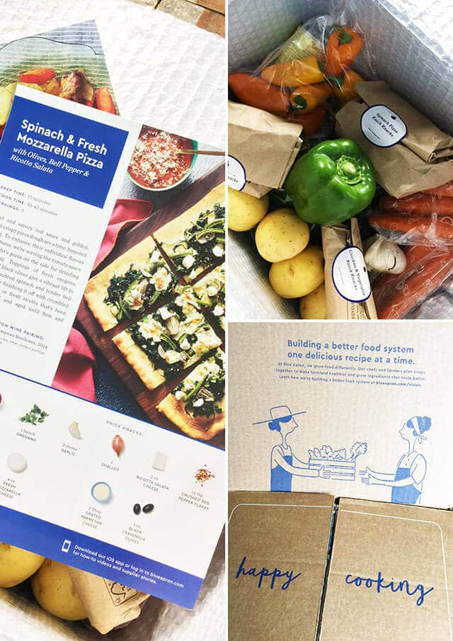 Easy Family Dinners with Blue Apron