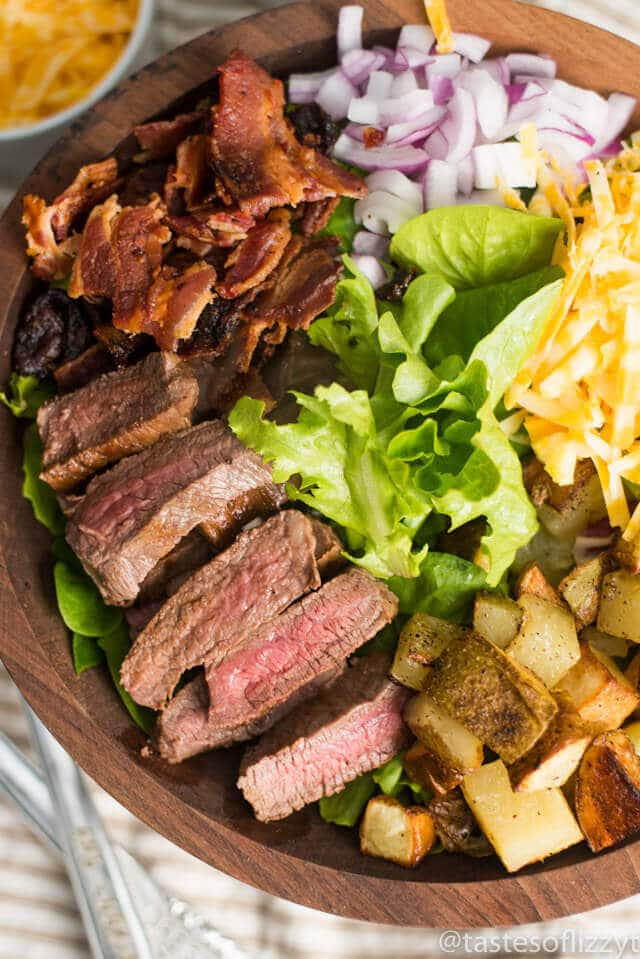 Love Steak And Potatoes Try This Easy Steak And Potato Salad Oven Fried Potatoes