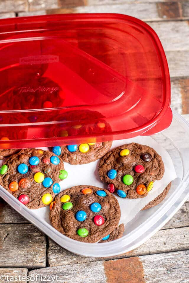 best cookie storage containers for freezing dough