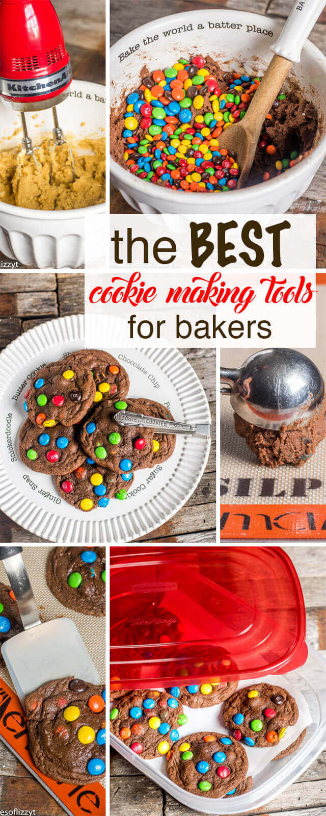 Baking Tools List best cookie making tools for homemade cookies {14 tools you need!}