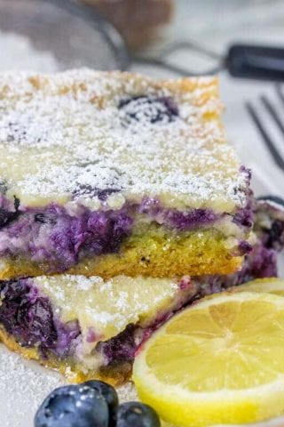 Gooey Blueberry Lemon Butter Cake