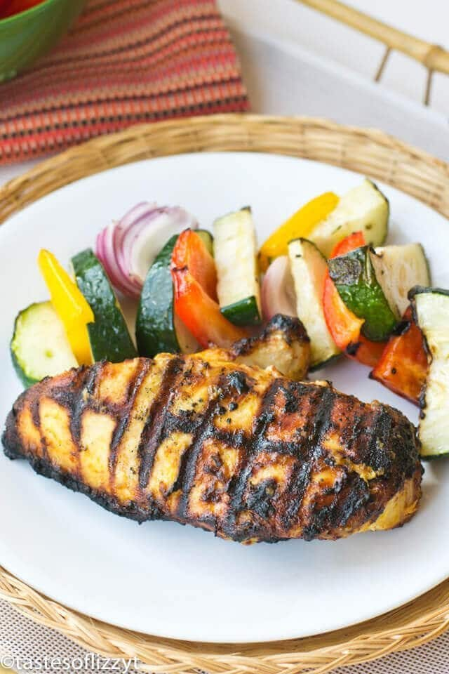 Garlic Mustard Grilled Chicken Recipe