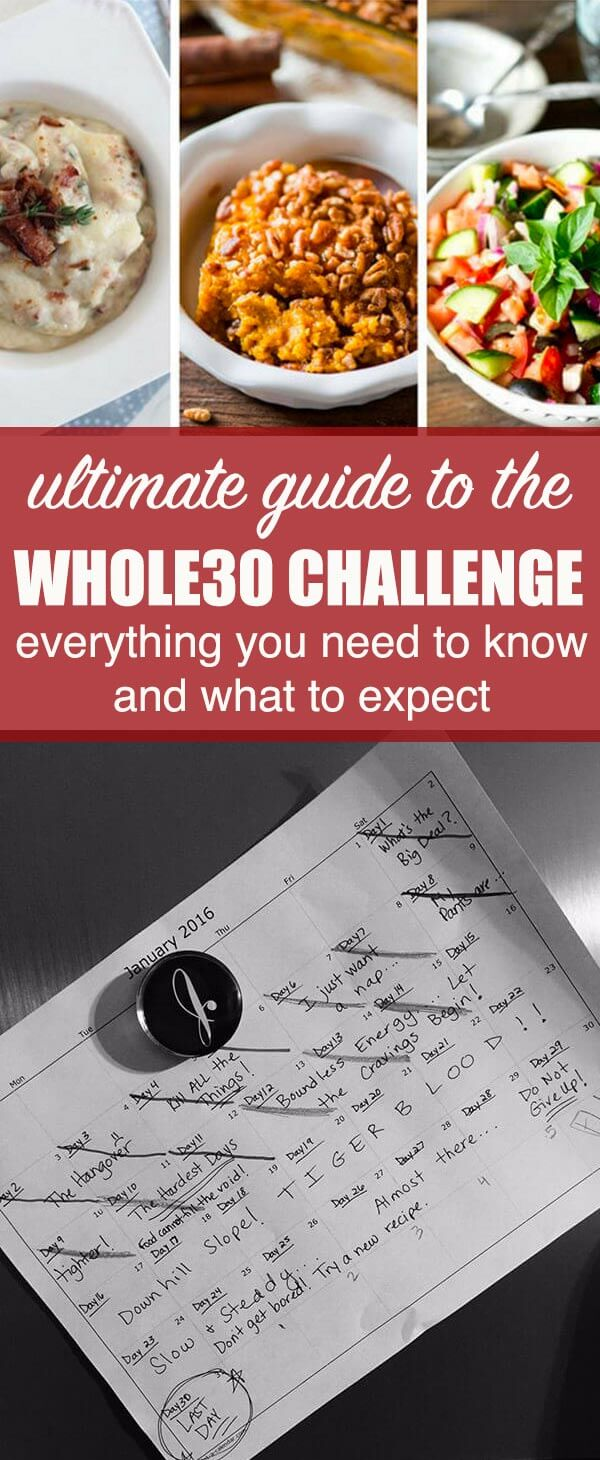 Everything you need to know about the Whole30, including what to expect, shopping, prep work, books, recipes, and reintroduction. Whole30 Challenge {Your Ultimate Guide To the Whole30 Program}