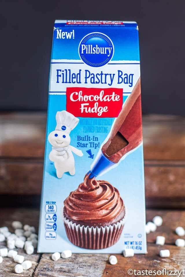 pillsbury chocolate fudge ice cream box