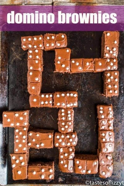 Domino Brownies
