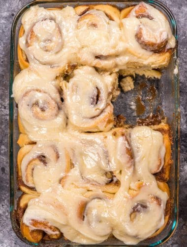 how to make gooey cinnamon rolls