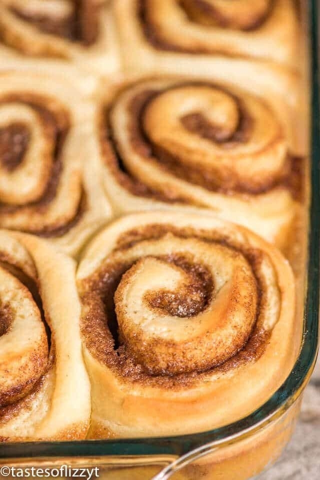 homemade cinnamon rolls plus the must have secret ingredient