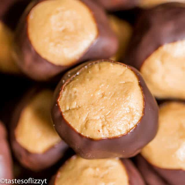 How to Make Buckeyes {Hints and Tricks for Dipping Homemade Candy}