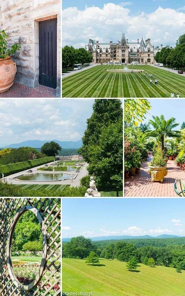 biltmore estate collage