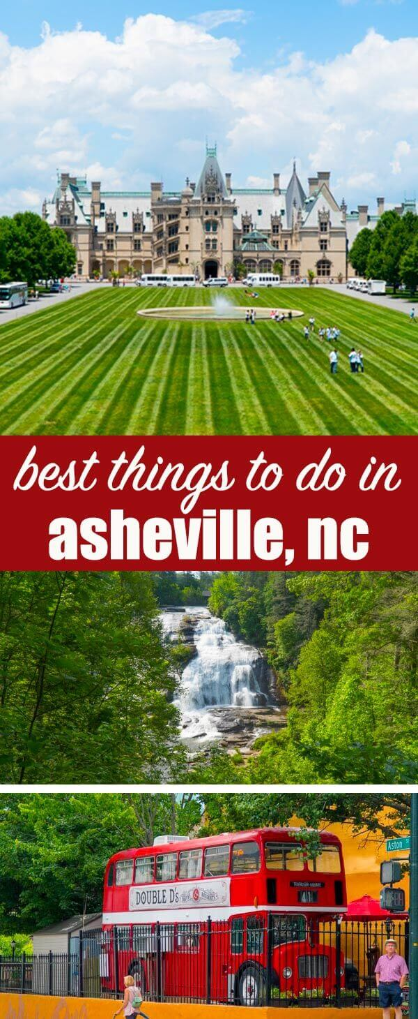 Hints on the best places to stay and must-see things to do in Asheville NC. From waterfalls to downtown shops to historical homes, this is an ideal family vacation experience. Things to Do in Asheville NC {An Ideal Family Vacation Destination}