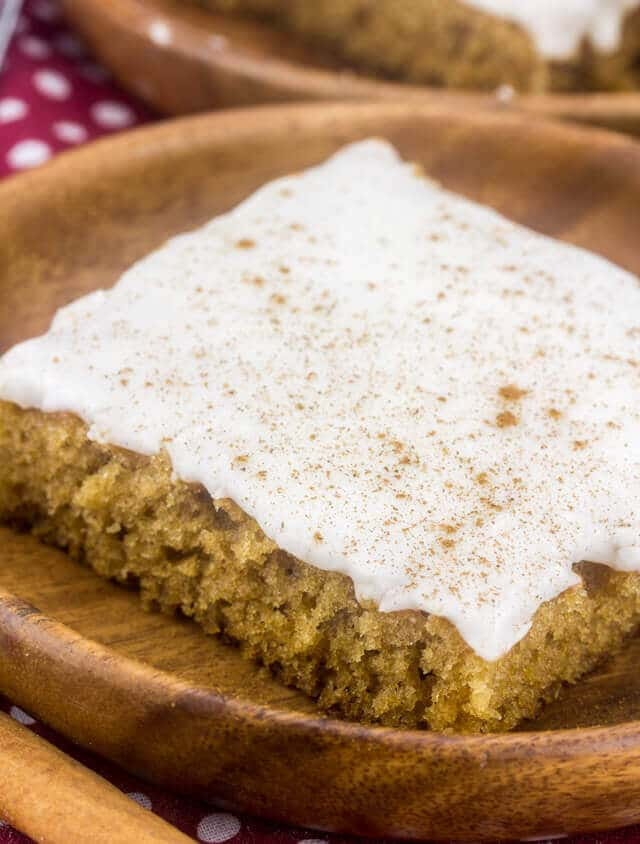 Apple Butter Sheet Cake