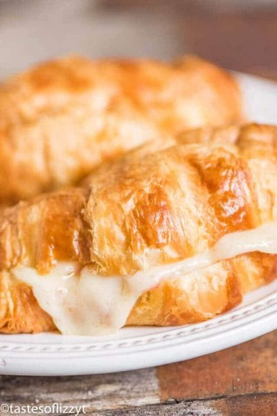 Hot Ham and Swiss Croissants